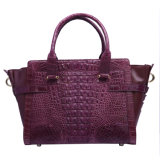 handbag Genuine Crocodile Designer 숙녀 형식 어깨 손 부대