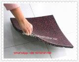 Stuoia di gomma utilizzata Dumbbell delle mattonelle di pavimento di ginnastica