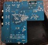 De naar maat gemaakte Slimme Stromende Kern Mxqpro van de Vierling van de Doos S905/S905X van TV van de Heemst Android5.1/6.0