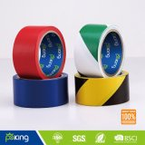 Verde y cinta adhesiva alerta blanco Sin PE, Barrera de cinta