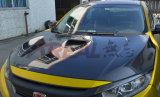 Fon Honda Civic X 2016 Cubierta de fibra de carbono tipo R