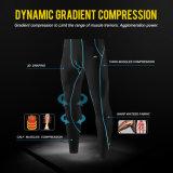 Parti inferiori lunghe della tuta sportiva di compressione dell'uomo per usura di sport