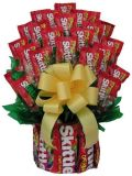 La decoración de vacaciones de embalaje de poliéster de Arcos de cinta de regalo