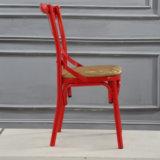 Оптовый самомоднейший стул задней части венчания x с материалом утюга