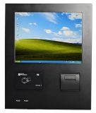 """12 """" Industriële PC van het Comité van de Aanraking met de Lezer van de Kaart/Thermische Printer"""