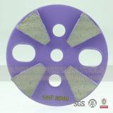 Roda abrasiva de diamante abrasivo de 4 polegadas para piso de concreto