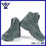青い野外活動のスポーツの軍の軍隊は起動する靴(SYSG-201732)を