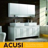 アメリカの簡単な現代様式のカシの純木の浴室の虚栄心(ACS1-W32)