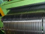 高精度の鋼鉄コイルのための自動切り開く巻き戻すライン機械