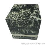 La tapa rígida / papel labrado Base Caja de regalo Perfumes / Vela caja de regalo