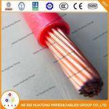 UL аттестовал провод 600V изолированный PVC обшитый нейлоном Thhn Thwn Nylon Coated