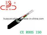Напольный кабель аудиоего разъема кабеля связи кабеля данным по кабеля кабеля/компьютера GYTA оптически