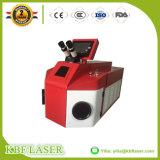 Laser-Schweißer-Maschine der Schmucksache-100W für Goldsilber-Kupfer