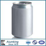 La position en aluminium de lait des prix les meilleur marché peut avec le collant de logo