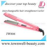 Salon Professional Mch Tourmaline 2 em 1 Hair Straightener / Curler