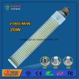 160Lm / W 20W G24 LED Pl Lâmpada