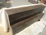 Pietre naturali incluse dalle mattonelle/lastra Polished del granito della Gran-Bretagna Tan Brown