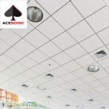 Topace Hot Sale 0.75mm Épaisseur aluminium les carreaux de plafond 600x600