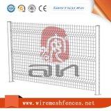 3D de la curva de la Esgrima galvanizado recubierto de PVC cerco de malla de alambre soldado
