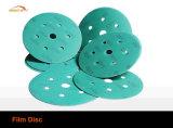 Discos de papel abrasivo de gancho y bucle de carburo de silicio
