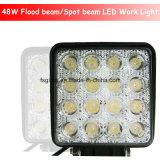 lumière carrée de travail de 48W 4inch DEL pour la remorque/camion (GT1015-48W)