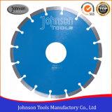 Lâmina de serra circular com segmento sinterizado de 230 mm para corte de granito