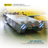 Motorisierte flaches Bett-Schienen-Übergangskarre für schwere Eingaben