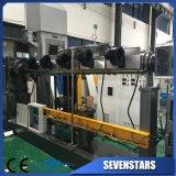 500kg/Hr PP PE 필름은 두 배 단계 작은 알모양으로 한 기계 선을 조각낸다