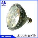 GU10 LED enciende 120 grados, luz GU10 del punto de 100-250V SMD 7W LED