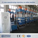 Presse corrigeante en caoutchouc à colonnes lourde, vulcanisant pour le pneu solide