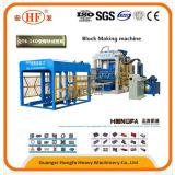 Máquina automática de fabricação de blocos oco de bloqueio de betão