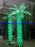 Yaye 18 Hot Sell Green Color LED Palm Tree Light / Outdoor Palm Palm com 2 anos de garantia / Ce / RoHS