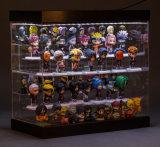 6 couches d'étalage acrylique de cadre pour la poupée