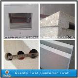 Polished кварц Calaccatta белый искусственний каменный для Countertops, плиток стены