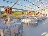 アルミ合金の結婚するイベントのためのフレームによってカスタマイズされるサイズのテント