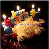 Candela di lusso di compleanno, candela della paraffina, candela di compleanno