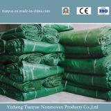 Il PVC ha ricoperto il disegno della tela incatramata del coperchio delle merci del tessuto