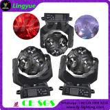 LED de futebol do Cabeçote Móvel 12X12W Mini feixe de luz Estágio