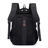 Saco de ombro saco do portátil de 15.6 polegadas trouxa preta fresca do estudante do saco de 14 polegadas