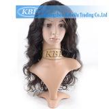 No hay brasileños sintético 360 Cabello Humano encaje encaje peluca frontal
