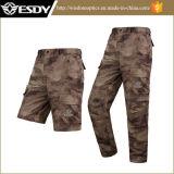 Camouflage s'élevant de pantalon de sports de pêche à séchage rapide UV extérieure de protection