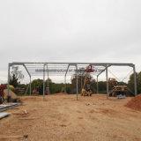 Edificio estructural ligero del almacén de la construcción del marco de acero