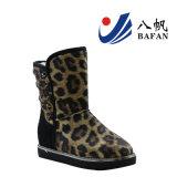Ботинки снежка способа печати леопарда женщин с украшением Bf1610230 заклепок