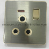 BS Style 1 Gang Tel Socket TV Socket