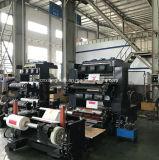 Da elevada precisão de papel da imprensa de impressão de 2 cores máquina de impressão Flexographic para o copo de papel