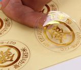 Papier d'imprimerie auto-adhésif fait sur commande amovible de collant d'étiquette de Cmyk