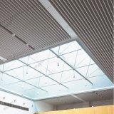Plafond déflecteur d'extrusion en aluminium à l'extrême droite avec section creuse