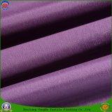 Tecidos têxteis à prova de poliéster Fr floco de revestimento de tecido de Blecaute para Cortina Ready-Made