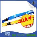 Bracelets tissés par IDENTIFICATION RF respectueuse de l'environnement en gros de polyester pour des événements