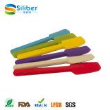 Espalhador de manteiga de silicone colorido diferente / cortador de manteiga Faca de queijo